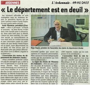 LArdennais 20150109 - Charlie Hebdo