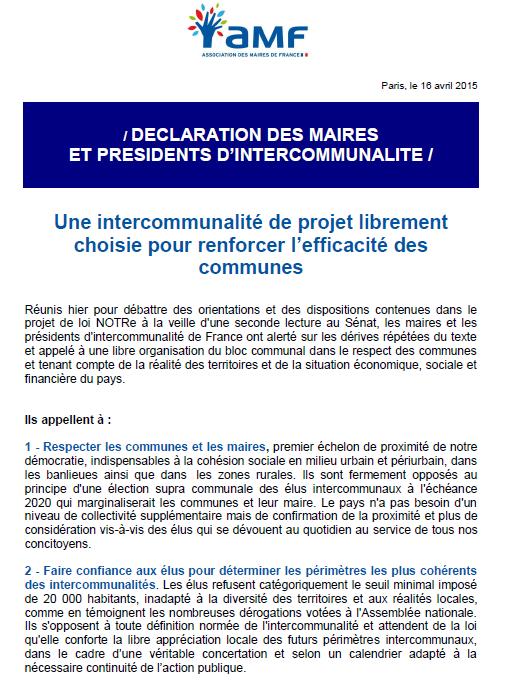 AMF communique 16042015 (1)