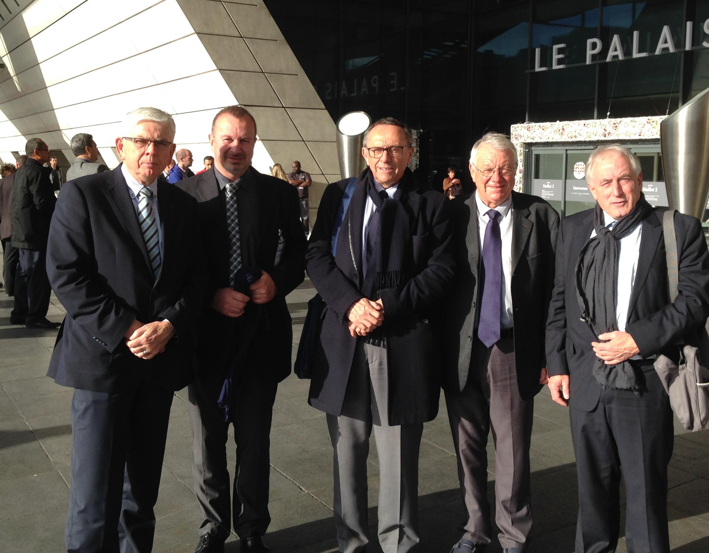 Rassemblement 18.11.2015 Paris Porte Maillot